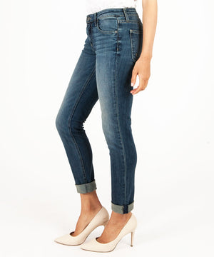 Catherine Relaxed Boyfriend, Exclusive (Protected Wash)-Denim-Kut from the Kloth