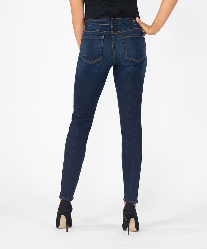 Diana Relaxed Fit Skinny, Long Inseam (Brightness Wash)-Kut from the Kloth