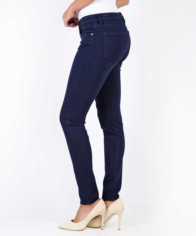 Diana Color Relaxed Fit Skinny, Exclusive (NAVY)-Kut from the Kloth