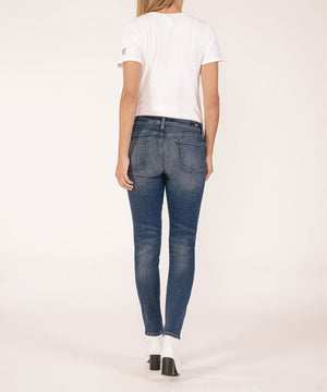 Premium Heritage Diana Relaxed Fit Skinny (Broadway Wash)-PREMIUM HERITAGE DENIM-Kut from the Kloth