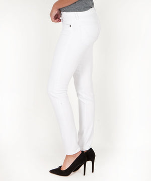 Diana Relaxed Fit Skinny, Exclusive (White Wash)-Kut from the Kloth