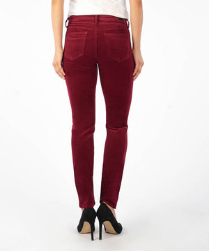 Diana Corduroy Relaxed Fit Skinny (Pomegranate)-Denim-Kut from the Kloth