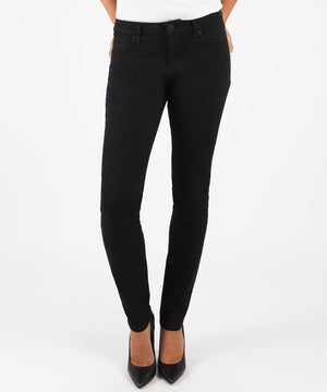 Diana Relaxed Fit Skinny (Black)-Denim-0-Kut from the Kloth