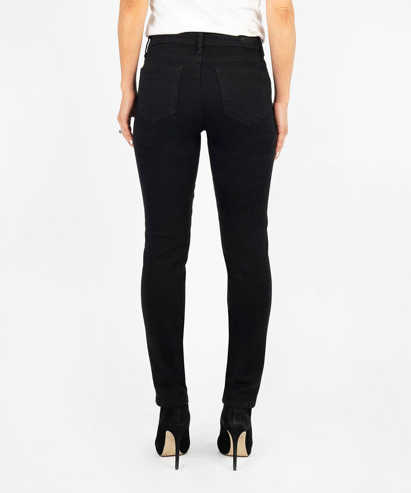 Diana Relaxed Fit Skinny, Petite (Black)-Kut from the Kloth