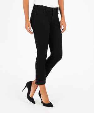 Catherine Boyfriend (Black)-Denim-Kut from the Kloth