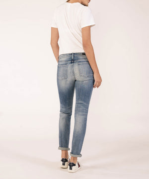 Premium Heritage Catherine Boyfriend (Vintage Presidio Wash)-PREMIUM HERITAGE DENIM-Kut from the Kloth