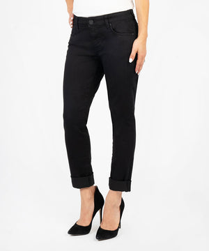 Catherine Boyfriend, Petite (Black)-Kut from the Kloth