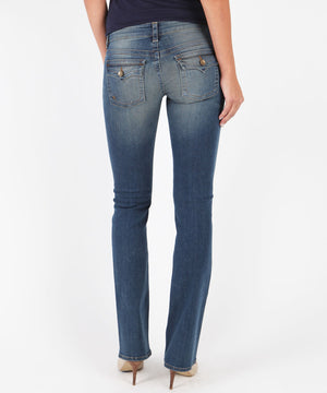 Kate-Low Rise Bootcut, Exclusive (Congratulate Wash)-Denim-Kut from the Kloth