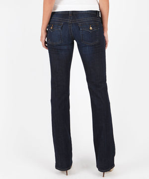 Kate- Low Rise Bootcut, Exclusive (Favor Wash)-Denim-Kut from the Kloth