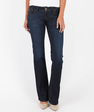 Kate- Low Rise Bootcut, Exclusive (Favor Wash)-Denim-0-Favor W/Dk Stone Base Wash-Kut from the Kloth