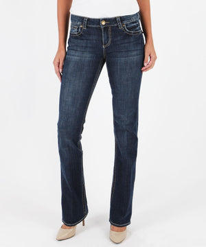 Natalie Bootcut, Vagos Wash (Available in Regular, Short and Long Inseam)-Denim-0-Kut from the Kloth