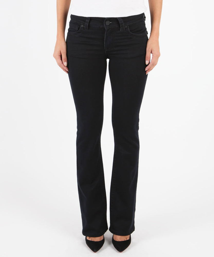 Natalie Bootcut, Short Inseam (Black)