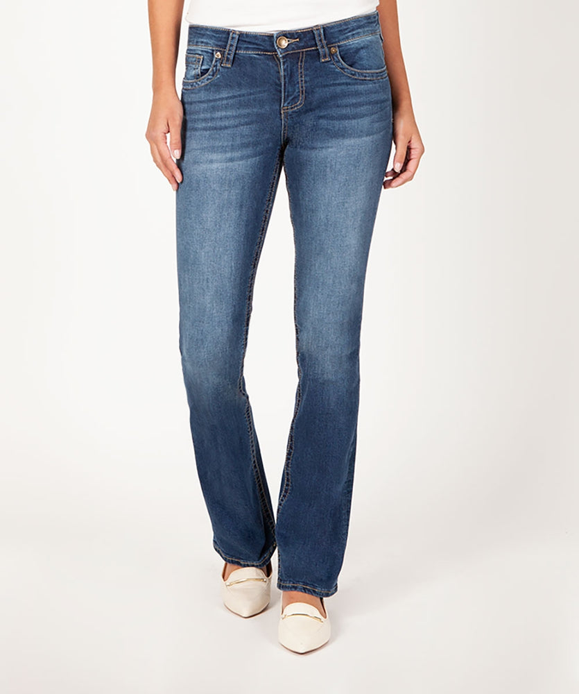 Natalie Boot Cut (Macrobian Wash)
