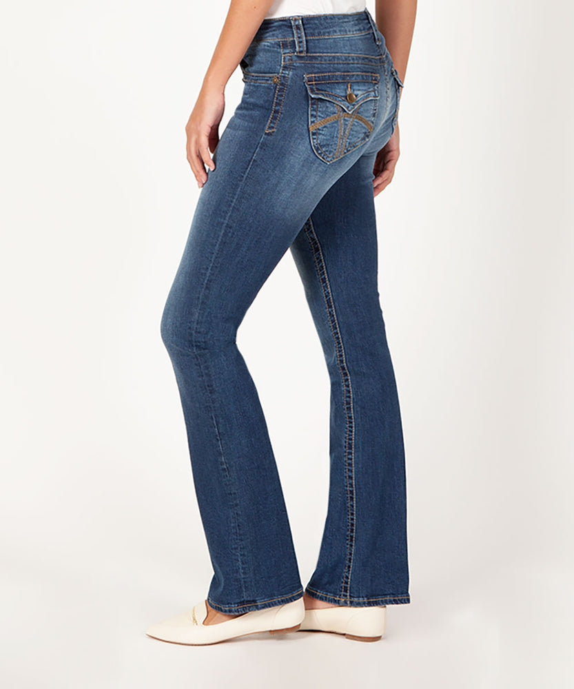 Natalie Boot Cut (Macrobian Wash)-Kut from the Kloth