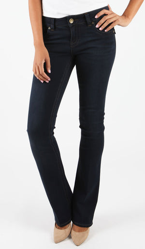 Natalie Bootcut (Conquer Dark Wash)-Denim-Kut from the Kloth