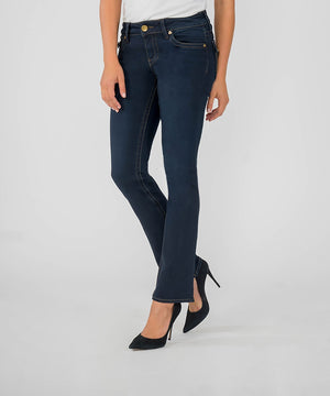 Natalie Bootcut, Short Inseam (Conquer Wash)-Fit-Kut from the Kloth