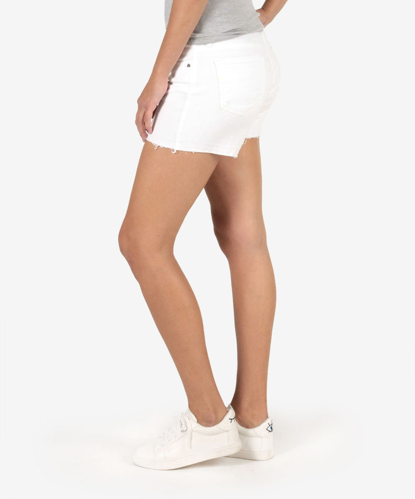 Andrea Short With Released Hem (White)