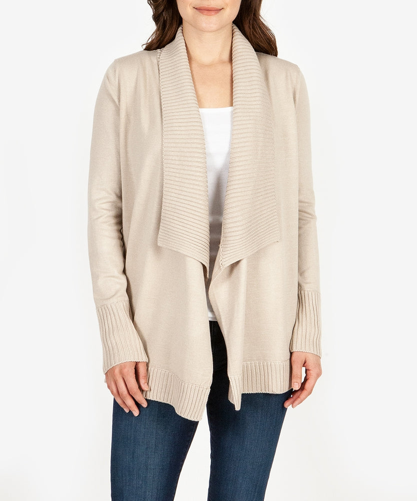 Amabelle Knit Cardigan (Blush)