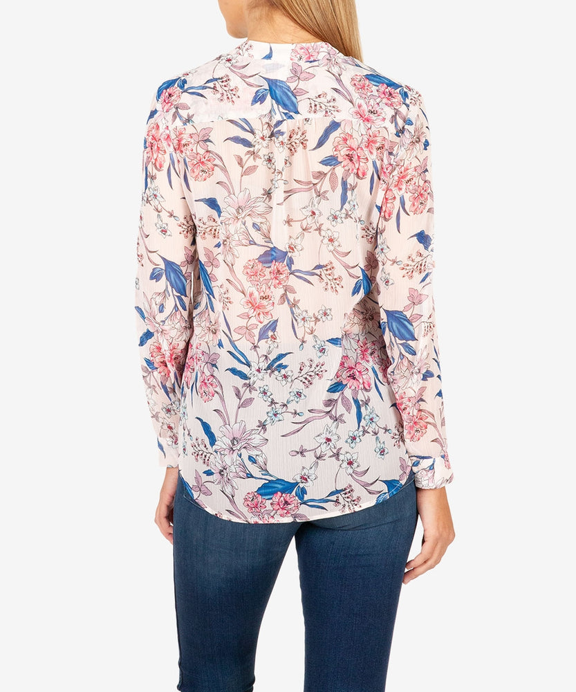 Jasmine Printed Blouse-Kut from the Kloth