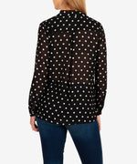 Imani Floral Wrap Blouse-Kut from the Kloth