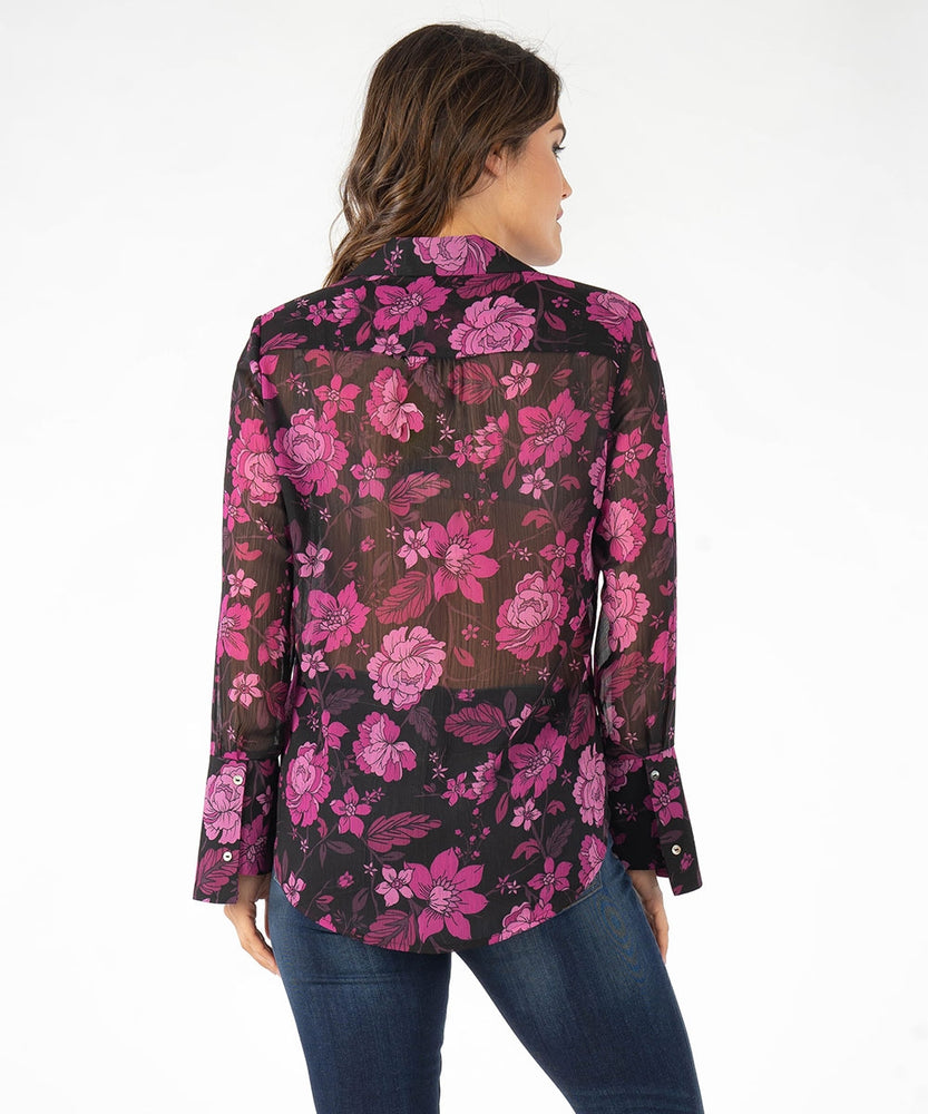 Odelline Printed Blouse