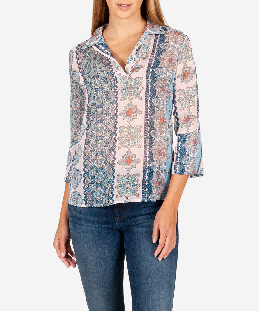 Niki Blouse-Kut from the Kloth