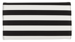 Slip Striped Wallet