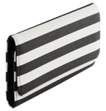 Slim Striped Wallet Hover Image
