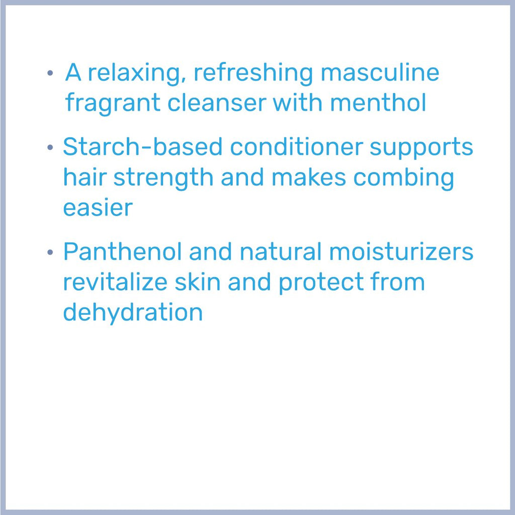 FOR MEN Energising Hair & Body Wash