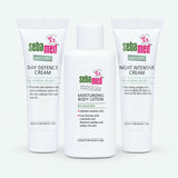Moisturising Sample Set - Anti-Dry Day Cream, Anti-Dry Night Cream, Moisturising Lotion