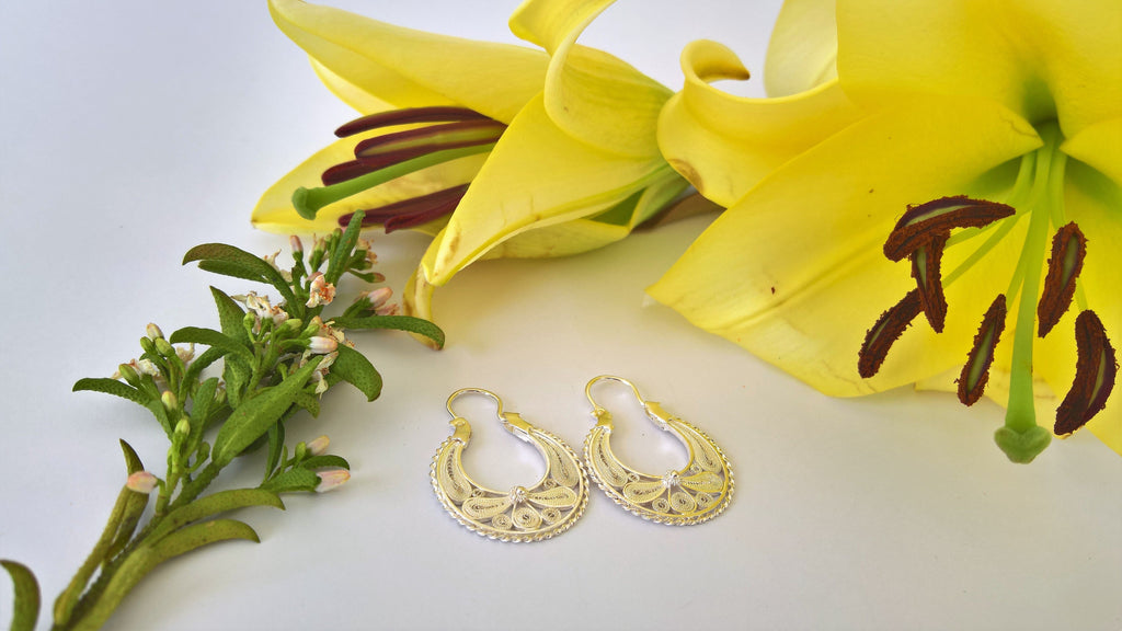 Traviatta Filigree Hoops