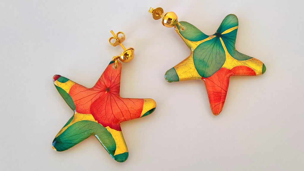 Estrella Natural Flowers Earrings