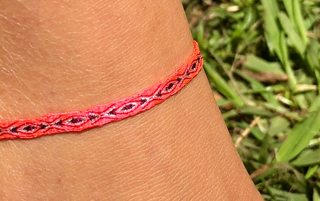 Egyptian Loom Anklet