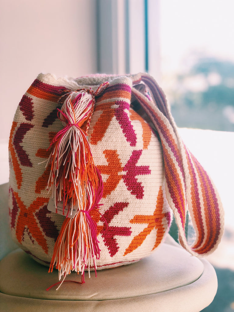 Knitted Colombian bag