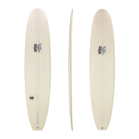 Deathless 'Dead Cat' Longboard in Cream, Mustard or Forest 8'4 - 9'4