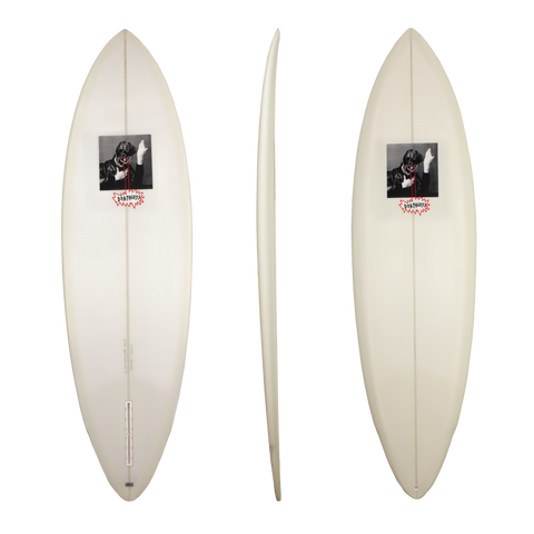 Deathless single fin Bowie surfboard