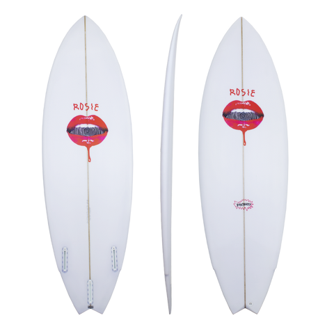 Deathless The Rosie shortboard