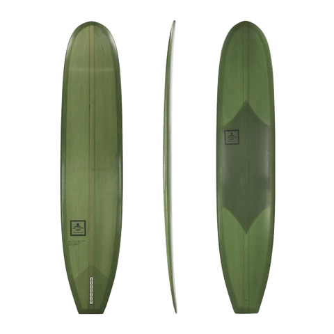 Diverse 'Nose Rider' Mal - Forest Green 9'1-9'4