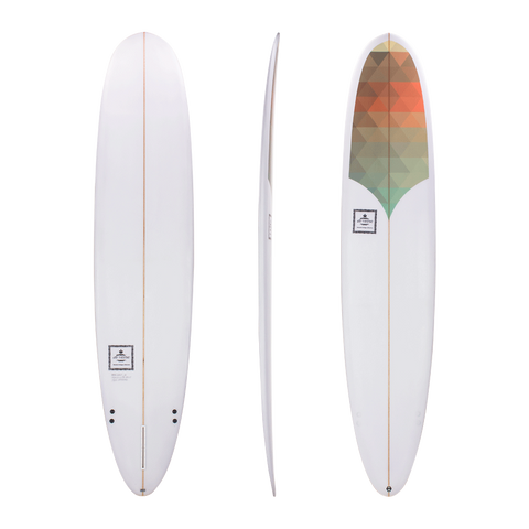 Diverse 'JB Classic' Longboard - Triangles 9ft
