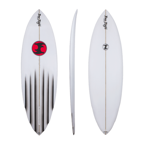 Free Flight 'Col Smith' 6 Channel Single Fin