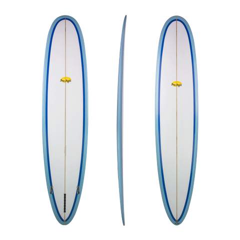 Free Flight 'Super 8' Longboard - Blue