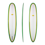 Free Flight 'Super 8' Longboard - Green 8'0 - 9'0
