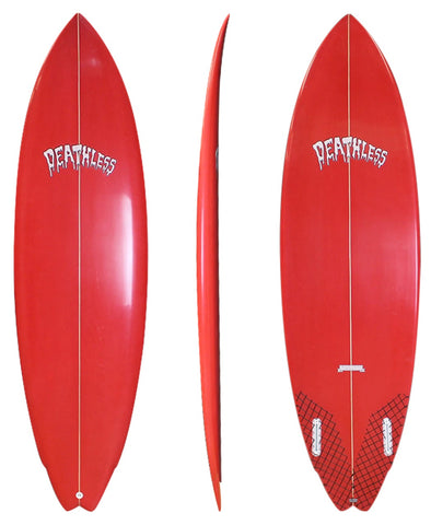 Deathless 'Hellboy' Twin Fin 5'10 - 6'4 - Shortboard