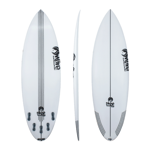On Fire Skye Bourton 'Sky Rocket' Shortboard 5'6 - 6'4
