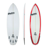 On Fire Skye Bourton 'Extractor' Shortboard Red 5'4-6'6
