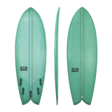 Retro Groove 'Moon Slap' Shortboard - Pine 5'0-6'0