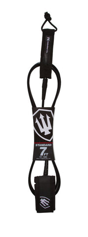 FK Standard 7ft Leash - Black