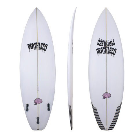 Deathless purple brain shortboard