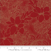 Gilded Greenery Red 33336-12 B535