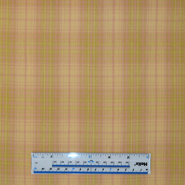 Plaid Well Pink B89